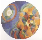 Delaunay, Robert Simulaneous Contrasts Sun and Moon (mk09) oil painting artist